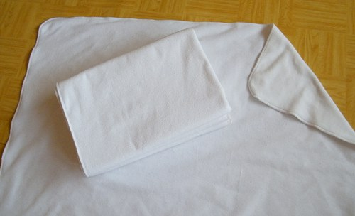 Přebalovací oboustranná podložka 95x95 cm fleese