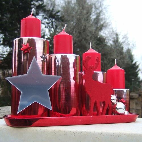 Svícen-Sobí vánoční