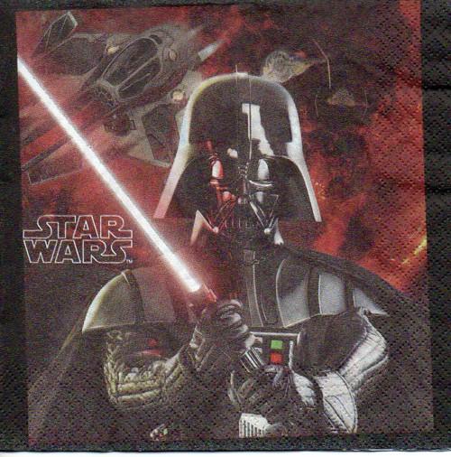 Papírový ubrousek, Star wars, 2 kusy
