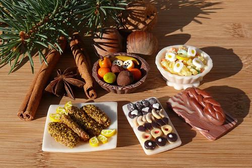 Štědrovečerní menu