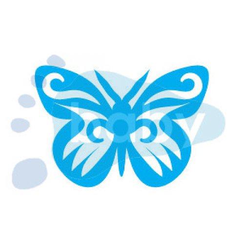 Razítko motýl 2 5 x 3,5