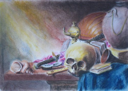 Alegorie života - kopie obrazu