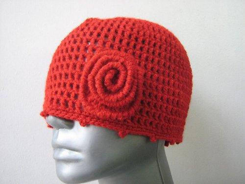 Háčkovaná čepice