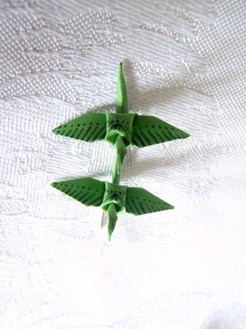 Jeřábci zelení proužkovaní