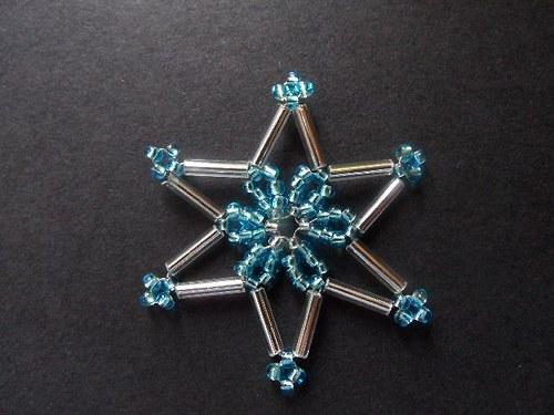 Tyrkysová vánoční hvězda