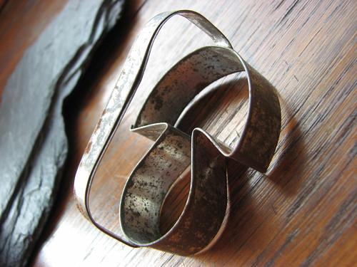 Hříbek...stará vykrajovací formička na cukroví