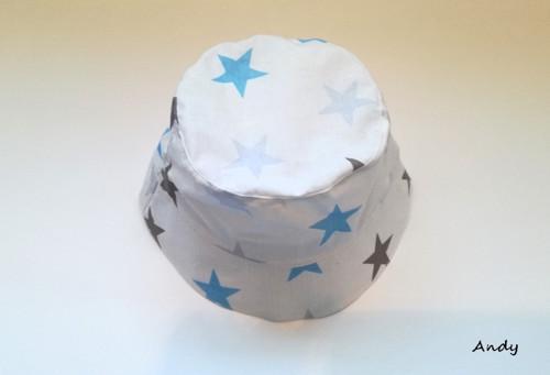 klobouček letní - mega hvězdy