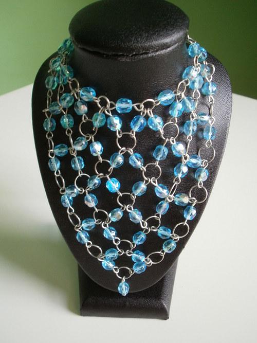 Broušený náhrdelník - sleva