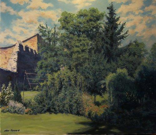 Jan Severa -Zahrada za hradbami