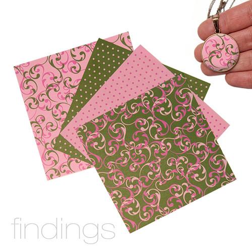 Origami papír 10 x 10 cm / Mix čis. 1 / 4 ks