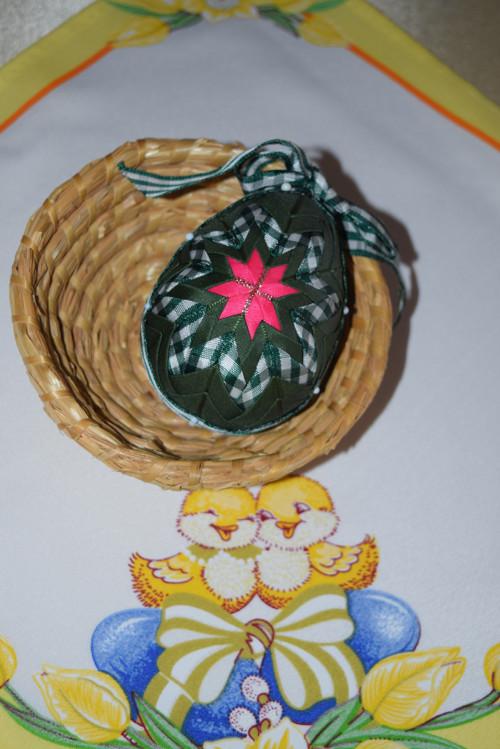 Velikonoce se zeleným vajíčkem