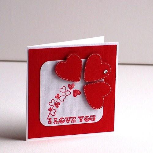 Valentýnské minipřáníčko