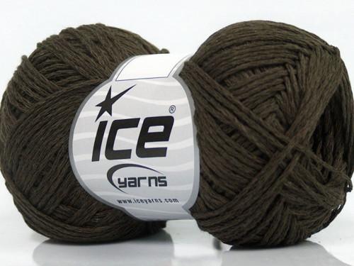 Cotton Chain Fine Brown 50g Ice Yarns