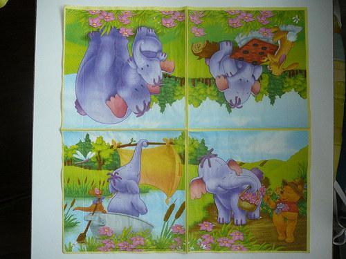ubrousek sloni