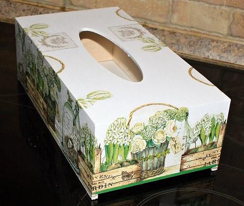 Jardin - krabička na kapeníky