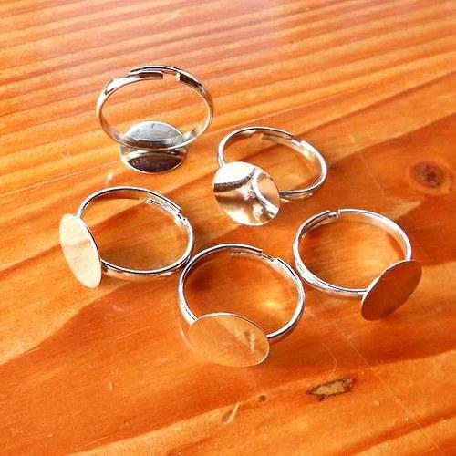 Prsten UNIVERSAL 12mm - 2ks - Stříbrný