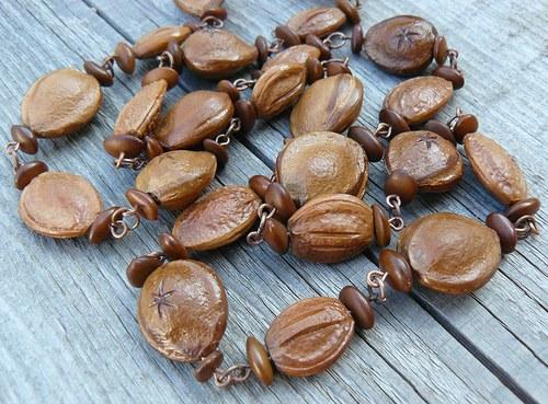 Peckový náhrdelník  (č.1)