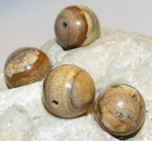 Jaspis obrázkový - kulička 10mm