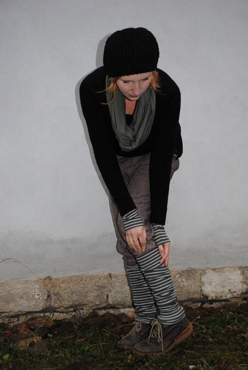 Nátepko-rukávky  khaki