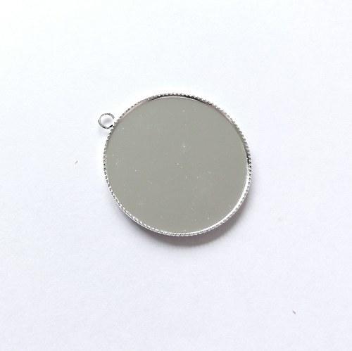 VÝPRODEJ - Lůžko (30 mm) - stříbrná