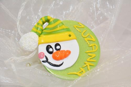 Vánoční sněhuláčci se jménem na přání
