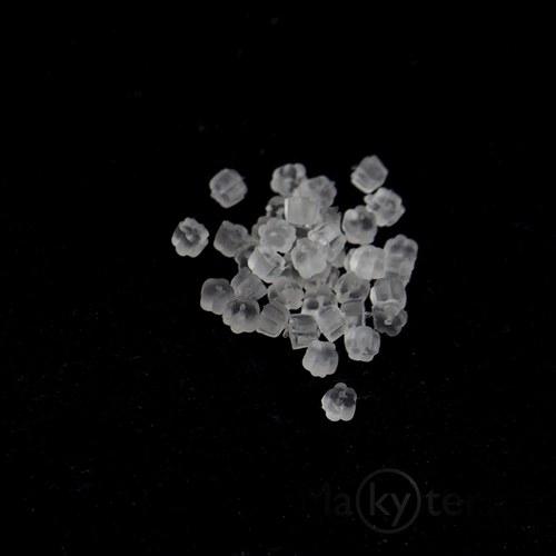 Zarážky k naušnicím - kytičky - 100 ks