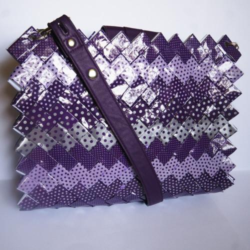 PapíroFka - fialový puntík