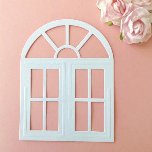 Okno ,barva dle přání(výsek) (DUM 4)