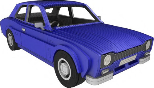 Modely aut | Ford Escort MK1