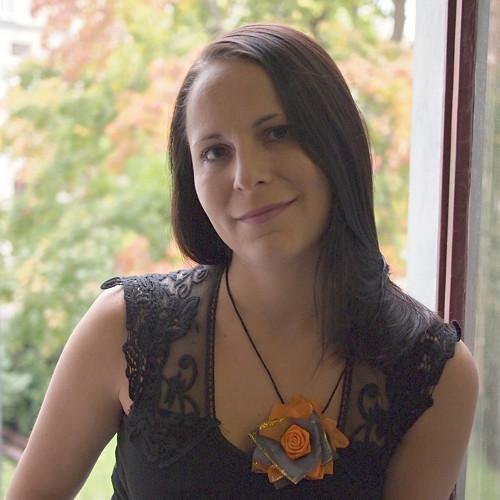 Lea - hedvábný náhrdelník