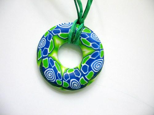 donut modrozelený, či  zelenomodrý ??....