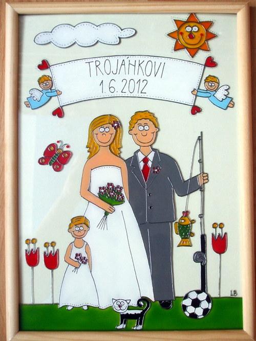 Svatební - ženich rybář :-)