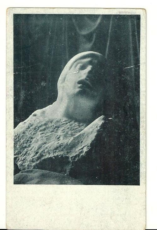Umělecká pohlednice Auguste Rodin Bolest