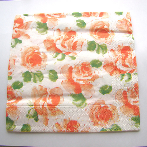 ubrousek lososové růže