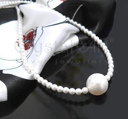 Náhrdelník zo Swarovski perál