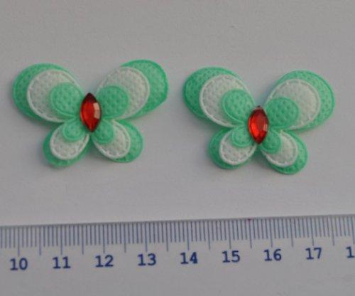 Motýlek aplikace 3x4cm - 2ks