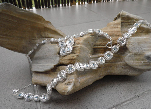 náhrdelník + náramek + náušnice S11