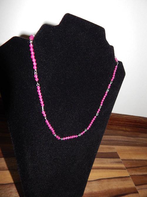 Růžové krystalky
