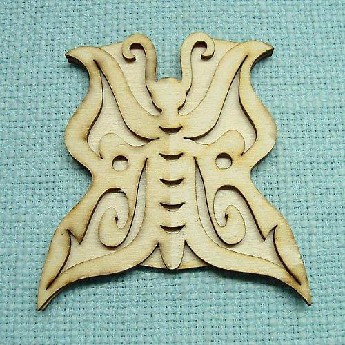 Razítko motýl 3 5 x 5,5