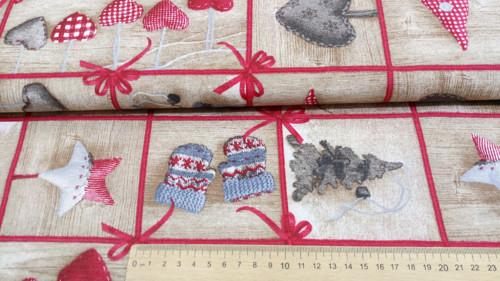 Vánoční patchwork