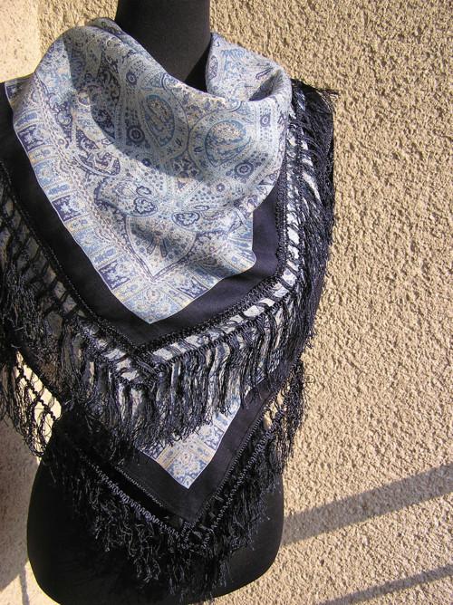 Luxusní šátek kašmírový