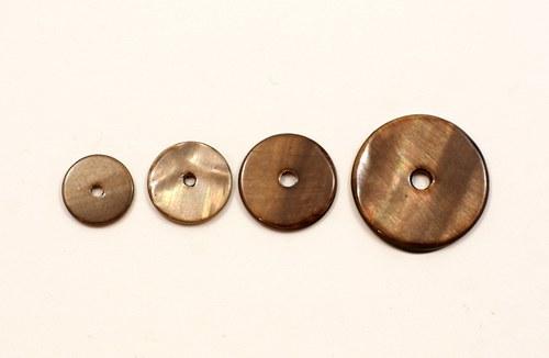 2ks- perleťové kolečko 15mm