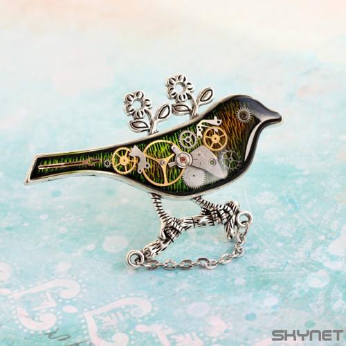 Ptáček zelenáček - brož