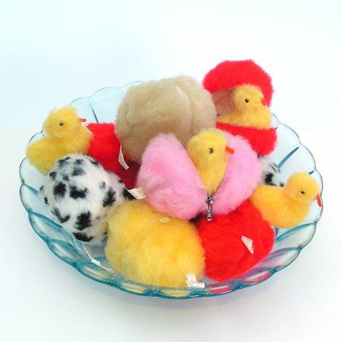 Barevné vejce a 2 kachničky - autorská hračka
