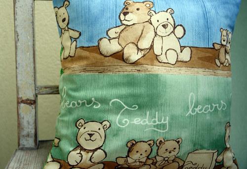 Povlak na polštářek co zajistí medvídkové sny