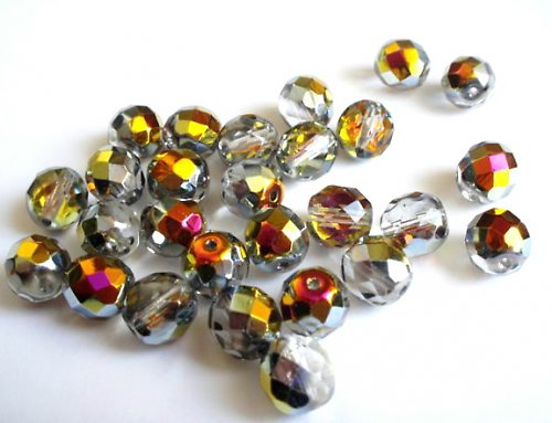 Broušená kulička krystal marea