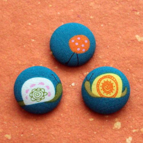 Buttonky knoflíčkové se zvířátky