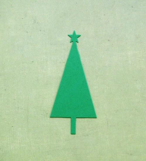 Vánoční stromeček plošný