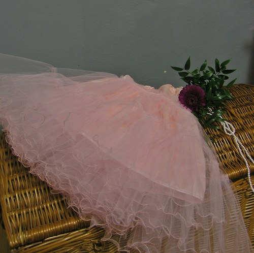 Spodnička pod kolovou sukni... růžová pro Zuzku