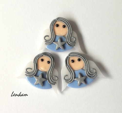 Andělka bleděmodrá - magnetka